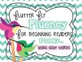 Fluency Reading for Beginning Readers ~ Fluttering Hummingbirds