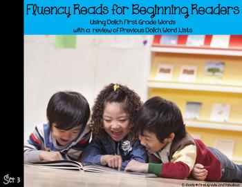 1st  Grade Dolch Fluency Reads