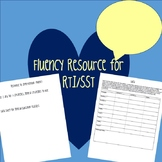 Fluency Resource-Response to Intervention (RTI)/Student Support Team (SST)