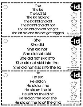 Fluency Rings: Short I
