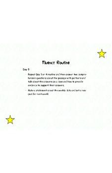 Fluency Routine in Language Arts