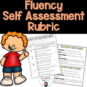 Fluency Self Assessment Rubric - Daily 5 Rotation