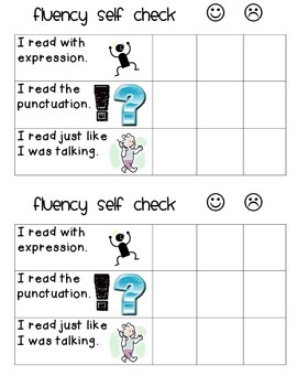 Fluency Self Check