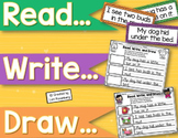 Fluency Sentences {Read, Write, and Draw}