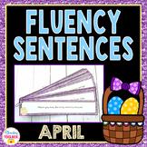 Fluency Sentences for April