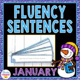 Fluency Sentences for January