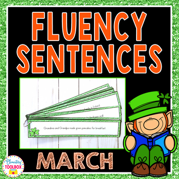 Fluency Sentences for March