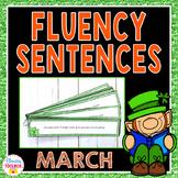 Fluency Sentences for March