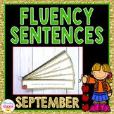 Fluency Sentences for September