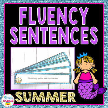 Fluency Sentences for Summer
