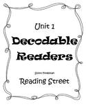 Fluency Sentences for Unit 1 Decodable Readers