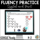 Fluency Sentences with Sight Words | Google Slides
