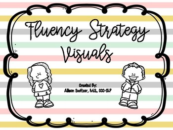 Fluency Shaping Strategy Visuals