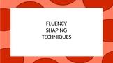 Fluency Shaping in Stuttering