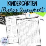 Fluency Sheet