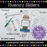 Fluency Sliders: Sight Word Practice {Fry Words 1-100 Phrases}