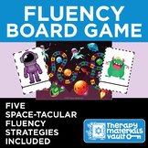 Fluency Space Adventure - Board Game for Teaching Helpful Fluency Strategies