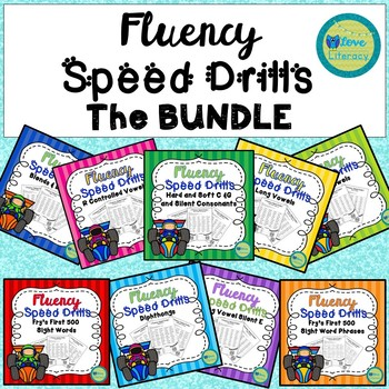 Fluency Speed Drills: A Growing Bundle