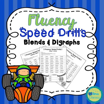 Fluency Speed Drills: Blends and Consonant Digraphs