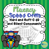 Fluency Speed Drills: Hard and Soft  C & G and Silent Consonants