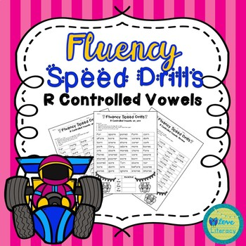 Fluency Speed Drills: R Controlled Vowels