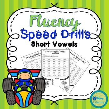Fluency Speed Drills: Short Vowels
