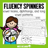 Fluency Spinners Vowel Teams and Diphthongs