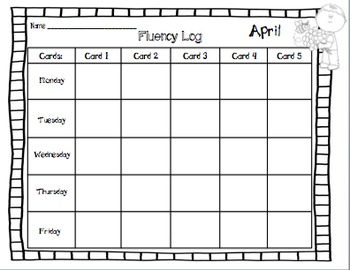 Fluency Squares April Edition