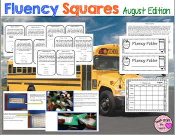 Fluency Squares August Edition