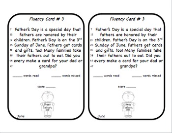 Fluency Squares June Edition