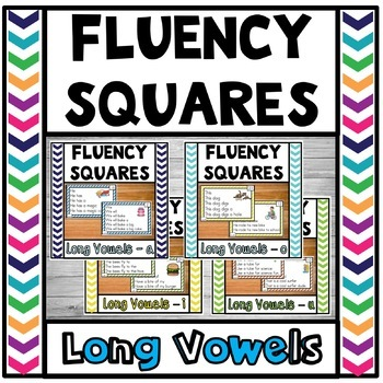 Fluency Squares Long Vowel Bundle