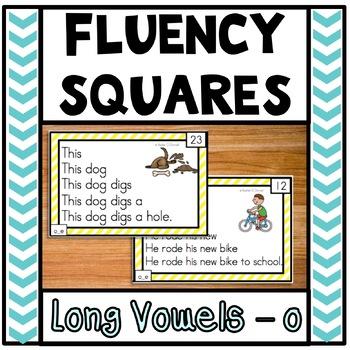 Fluency Squares Long o_e
