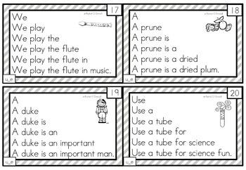 Fluency Squares Long u_e