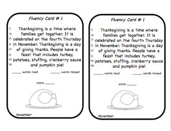 Fluency Squares November Edition
