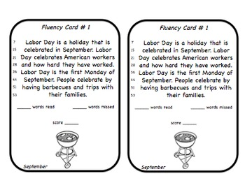 Fluency Squares September Edition