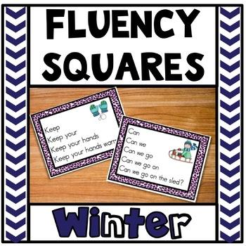 Fluency Squares Winter Edition RF.1.4