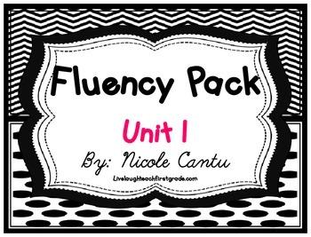 Fluency Station Pack - Unit 1