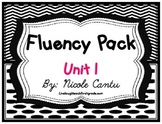 Fluency Station Pack - Unit 1