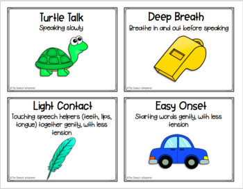 Fluency Strategies Mini-Packet