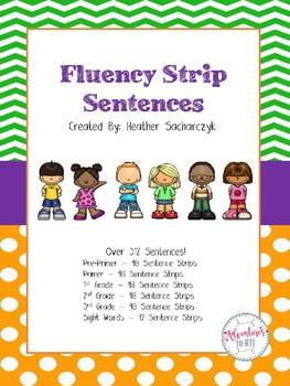 Fluency Strip Sentences
