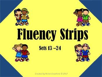 Fluency Strips Set 13 - 24