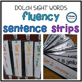 Fluency Strips Dolch Bundle- AUTISM/SPED/ELEMENTARY