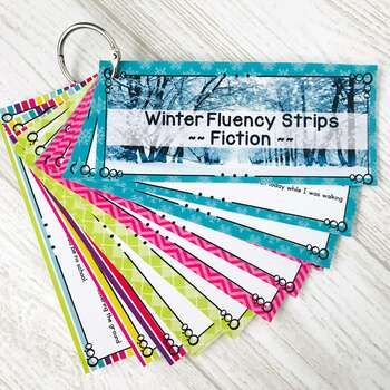 Fluency Strips ~ Fluency Practice for 2nd & 3rd Grades Set 1