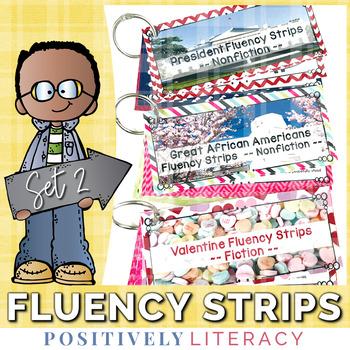 Fluency Strips ~ Fluency Practice for 2nd & 3rd Grades Set 2