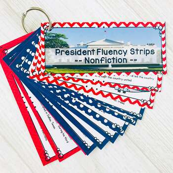 Fluency Strips ~ Fluency Practice for 2nd & 3rd Grades Set 2