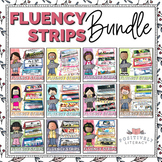 Fluency Strips Bundle | Reading Fluency Practice | Sentenc