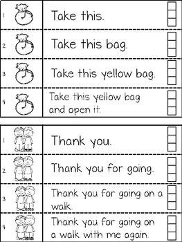 Fluency Strips Interactive Notebook SET 2 - Sight Words & CVC