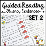 Guided Reading Fluency Sentences Sight Words & CVC Set 2