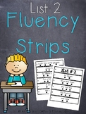 Fluency Strips List 2