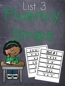 Fluency Strips List 3